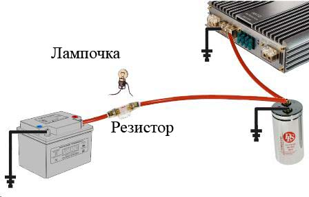 конденсатора следует